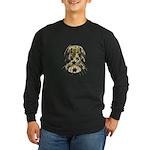 Shiny Stars in Cascade Long Sleeve Dark T-Shirt