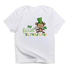 Monkey 1st St. Patrick's Day Infant T-Shirt