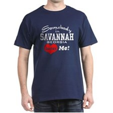 Somebody In Savannah Loves Me T-Shirt