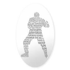 Hockey Fighter Goon Decal