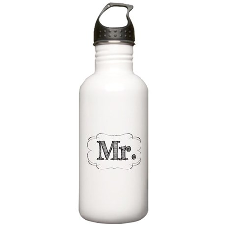 His & Hers Stainless Water Bottle 1.0L