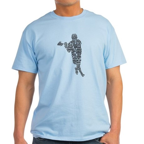 Lacrosse Terminology Light T-Shirt