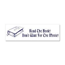 Cute Read the book Car Magnet 10 x 3