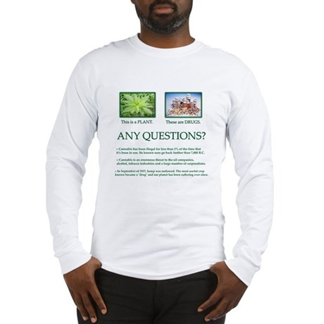 Cannabis Plant - Long Sleeve T-Shirt