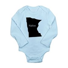 Cute Native america Long Sleeve Infant Bodysuit
