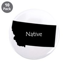 "Montana Native 3.5"" Button (10 pack)"
