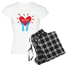 Social Workers Have A Heart Pajamas