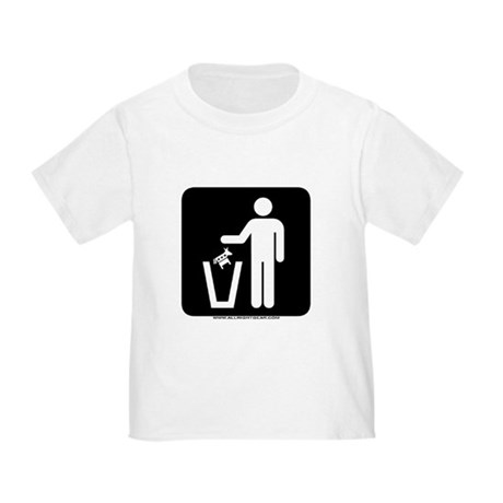 Trash Disposal Toddler T-Shirt
