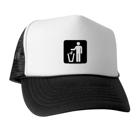 Trash Disposal Trucker Hat