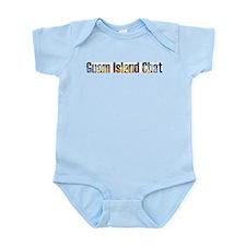 Guam Island Chat Infant Creeper