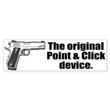 Original Point & Click Device Bumper Bumper Sticker