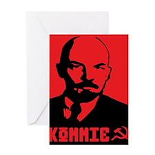 Lenin Greeting Card