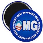 """OMG 2.25"""" Magnet (100 pack)"""