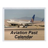 Aviation Past Wall Calendar