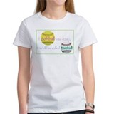 Cool Girl's softball Tee