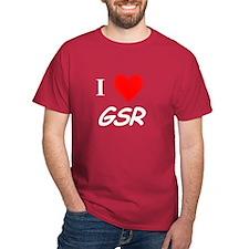 I Heart GSR Black T-Shirt