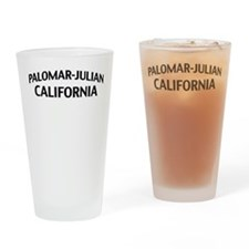 Palomar-Julian California Drinking Glass