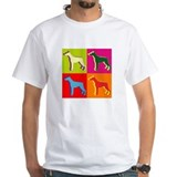 Doberman Pinscher Silhouette Pop Art Shirt
