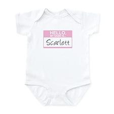 Hello, My Name is Scarlett - Onesie