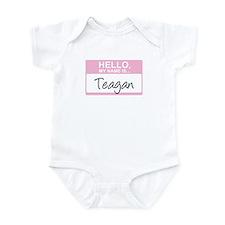 Hello, My Name is Teagan - Infant Bodysuit