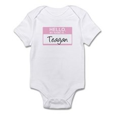 Hello, My Name is Teagan - Onesie