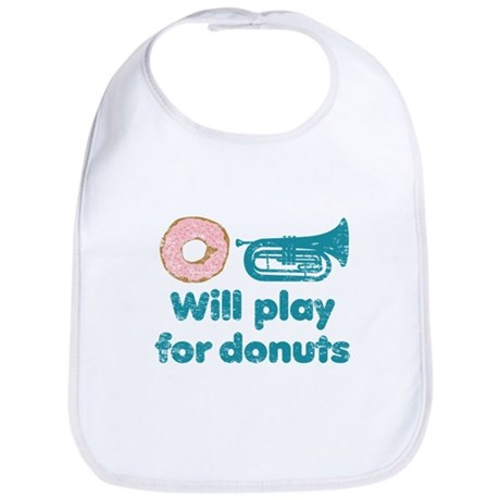 Will Play Baritone for Donuts Bib