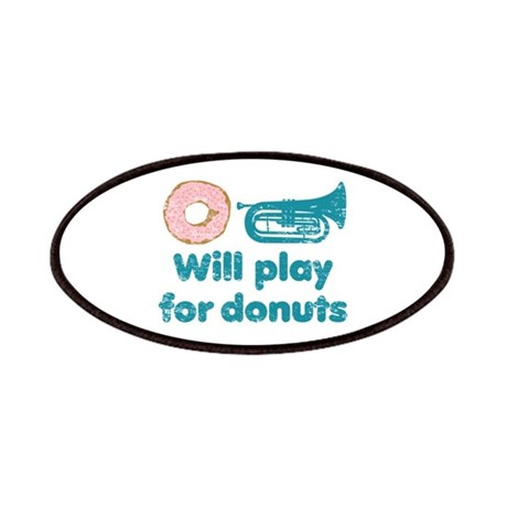 Will Play Baritone for Donuts Patches