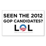 GOP 2012 LOL Decal