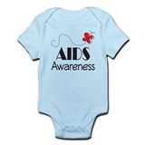Butterfly AIDS Awareness Onesie