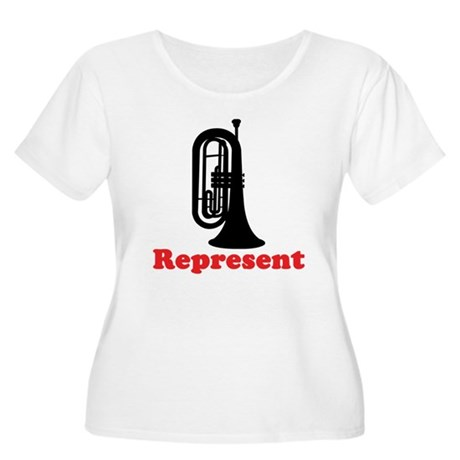 Marching Band Baritone Represent Women's Plus Size