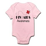 HIV/AIDS Awareness Butterfly Onesie