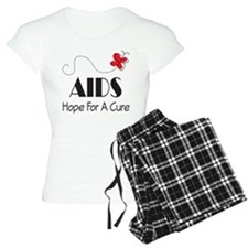 Butterfly AIDS Awareness Pajamas