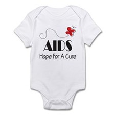 Butterfly AIDS Awareness Infant Bodysuit