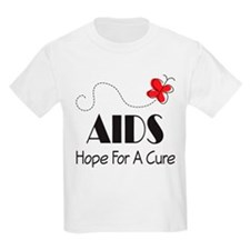 Butterfly AIDS Awareness T-Shirt