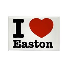 I love Easton Rectangle Magnet (100 pack)