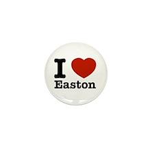 I love Easton Mini Button (100 pack)