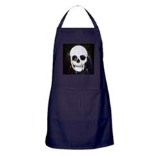 Skull Illusion Apron (dark)