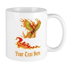 Phoenix and Custom Text. Mug