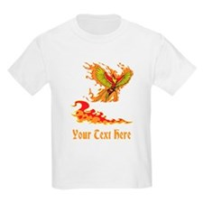 Phoenix and Custom Text. T-Shirt