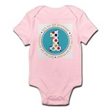 Cute Boy first birthday Infant Bodysuit