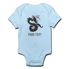 Dragon Design and Writing. Infant Bodysuit