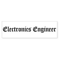 Electronics Engineer Bumper Bumper Sticker