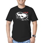 Aston Martin DB9 Men's Fitted T-Shirt (dark)