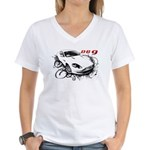 Aston Martin DB9 Women's V-Neck T-Shirt