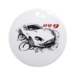 Aston Martin DB9 Ornament (Round)