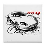 Aston Martin DB9 Tile Coaster