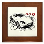 Aston Martin DB9 Framed Tile