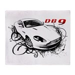 Aston Martin DB9 Throw Blanket