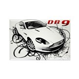 Aston Martin DB9 Rectangle Magnet