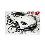 Aston Martin DB9 Rectangle Magnet (100 pack)